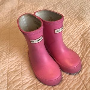 Hunter Boots - Toddler Size 4